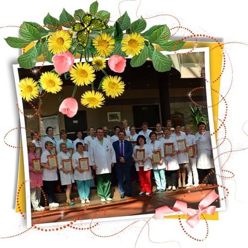 Поздравляем медицинских сестер НПЦ с праздником!