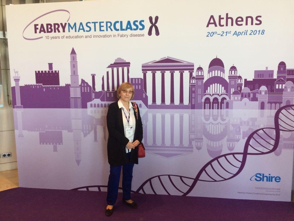 Мастер-класс Жилиной Светланы Сергеевны в Афинах