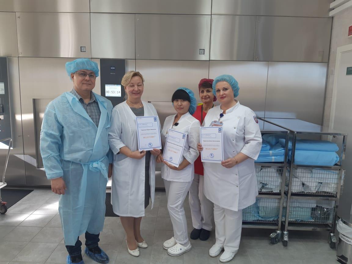Новое оборудование в центральном стерилизационном отделении