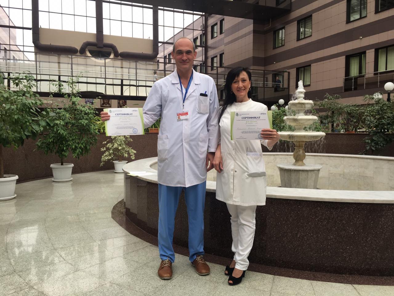Специалисты НПЦ прошли обучение на право проводить инъекции при ботулинотерапии
