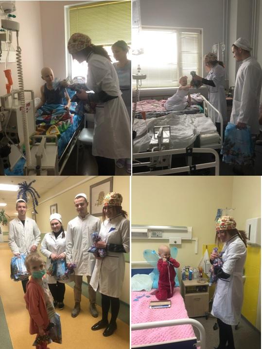 Поздравления от администрации и студентов медицинского колледжа пациентам НПЦ
