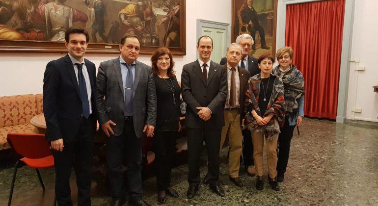 Встреча в итальянской клинике города Алессандрия