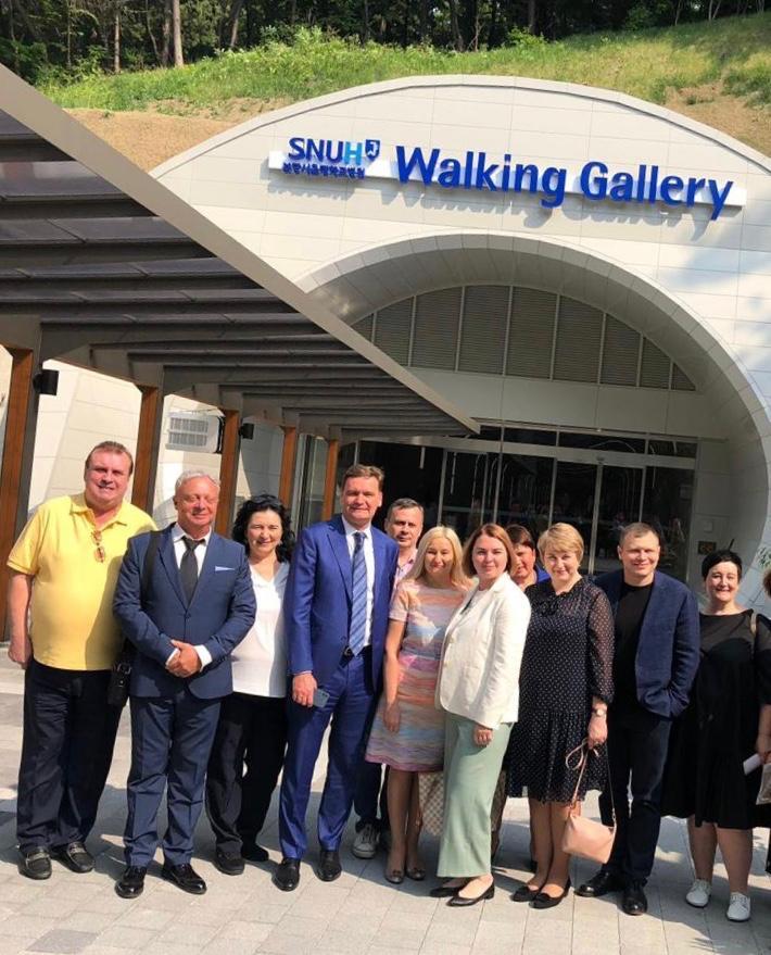 Андрей Георгиевич Притыко посетил с рабочим визитом ряд медицинских учреждений в Южной Корее
