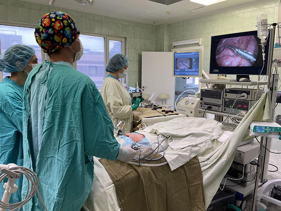 Операция по пересадке мочеточника при мегауретере