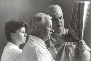 25 октября 1995 года в здании на Можайке проведена первая операция.